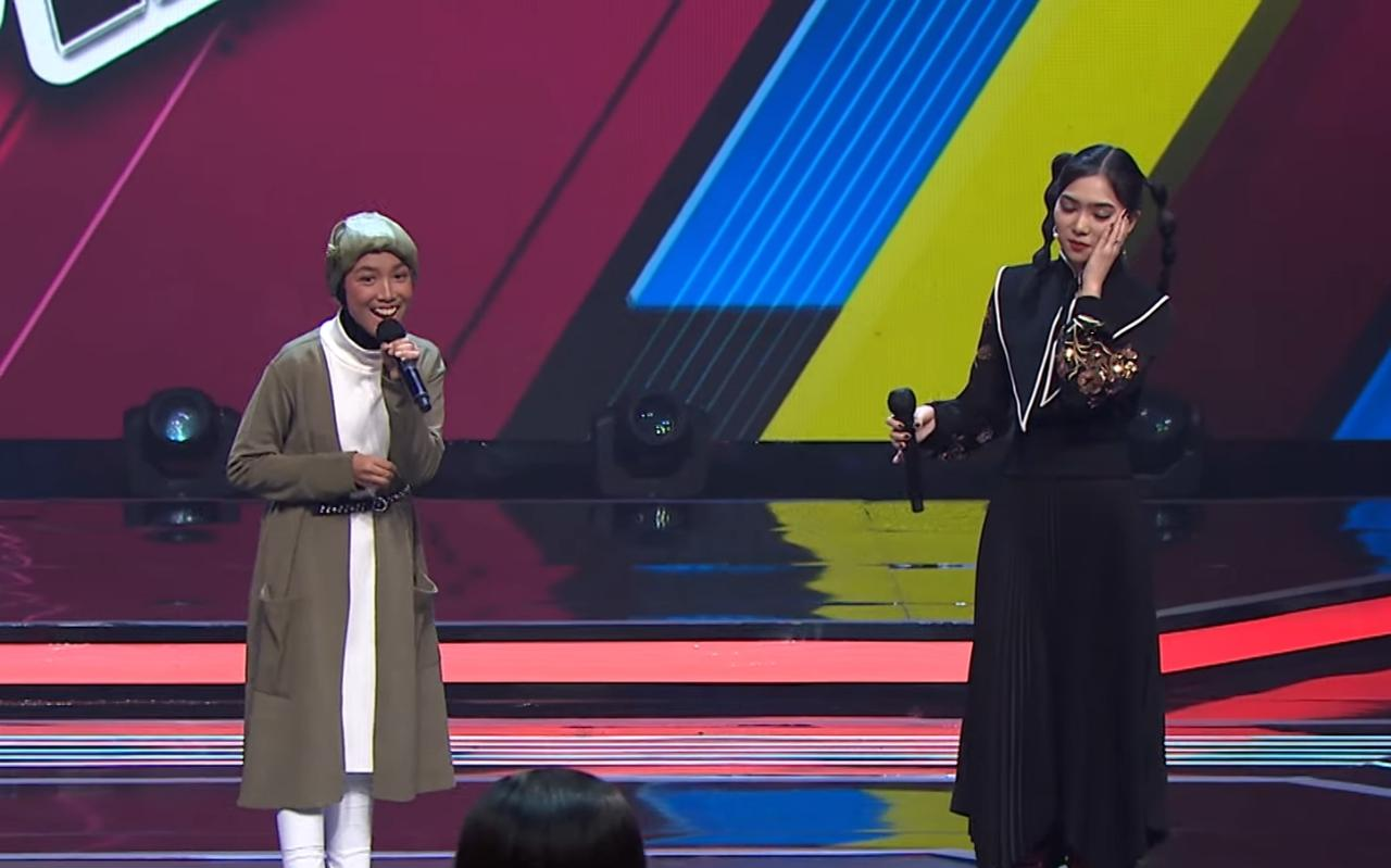 Suara Ajeng Lumajang Curi Perhatian Coach The Voice Kids Indonesia