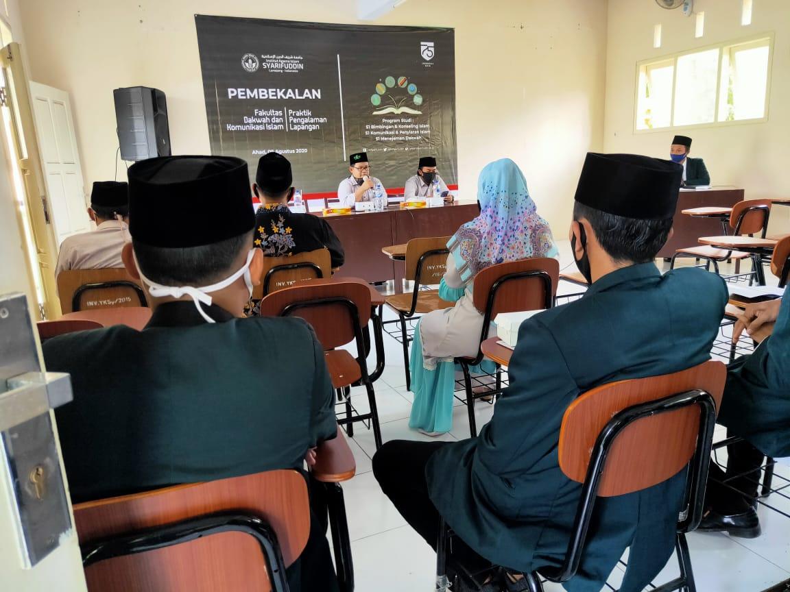 Puluhan Mahasiswa Fakultas Dakwah IAIS Lumajang Ikut Pembekalan PPL