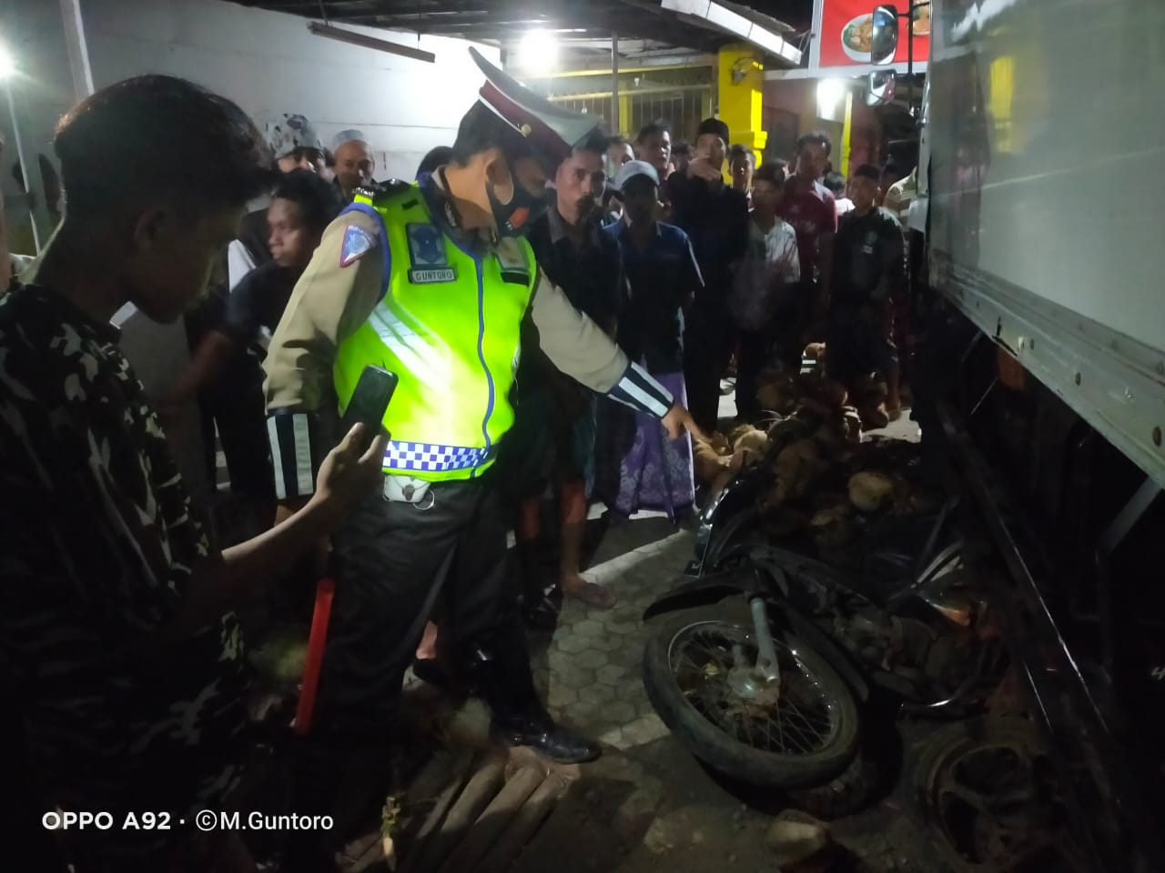 Truk Hilang Kendali Akibatkan 1 Meninggal dan 5 Luka di Ranuyoso