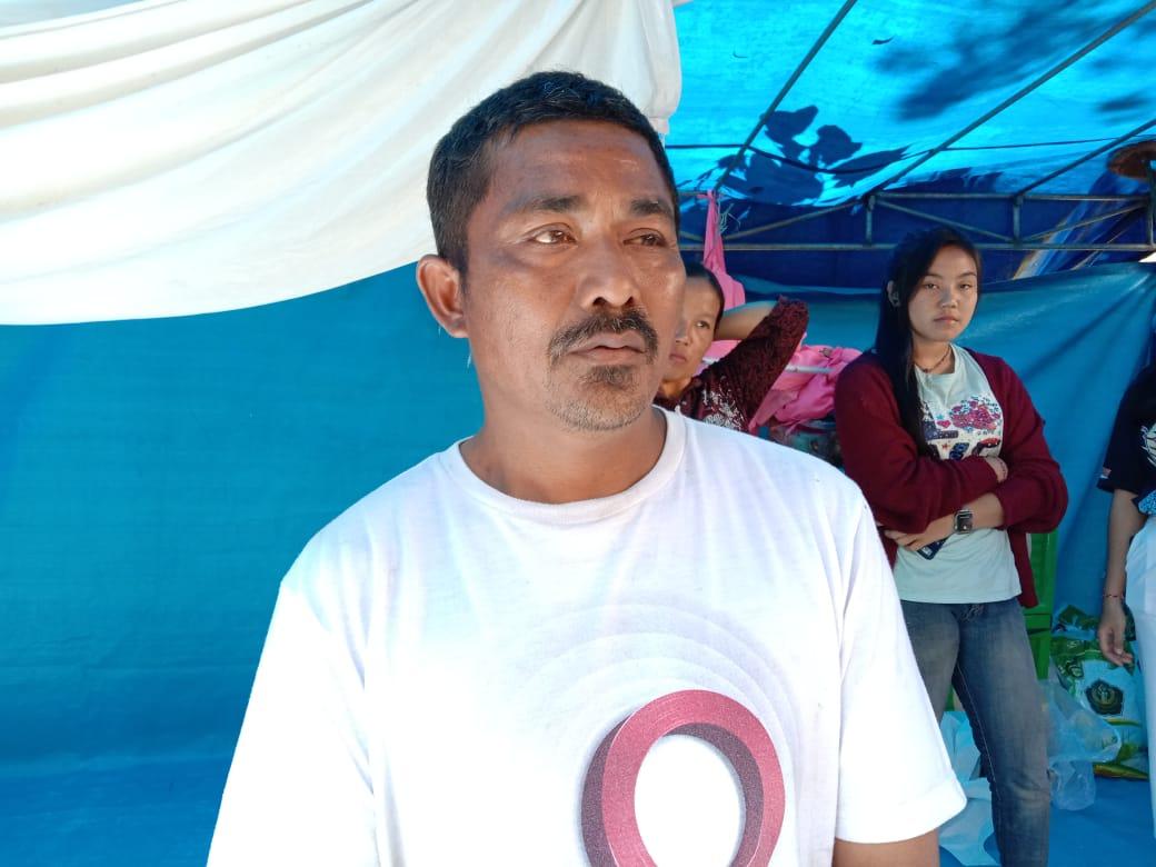 Pasca Gempa, Warga Sidomulyo Lumajang Kesulitan Dana Bangun Rumahnya