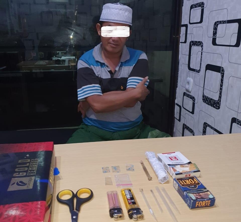 Husni Ditangkap Polisi Lumajang Usai Nyabu Beralasan Mikirkan Corona