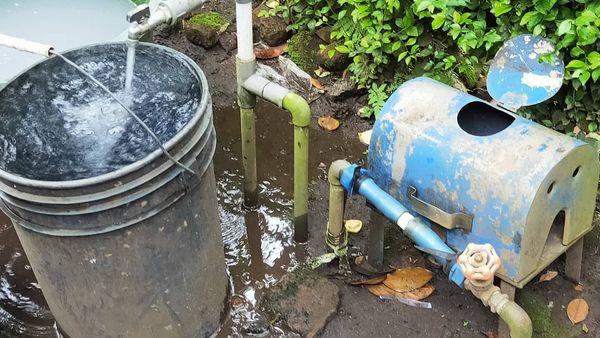 Air Perumdam di Wilayah Lumajang Utara Mulai Dirasakan Lancar