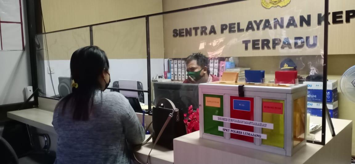Ditipu..! Saro Tukum Laporkan Rekan Bisnis Skincare ke Polres Lumajang