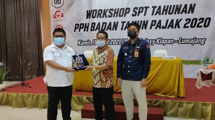 Kadin Lumajang Gelar Workshop SPT Tahunan PPH Badan 2020 Patuh Pajak