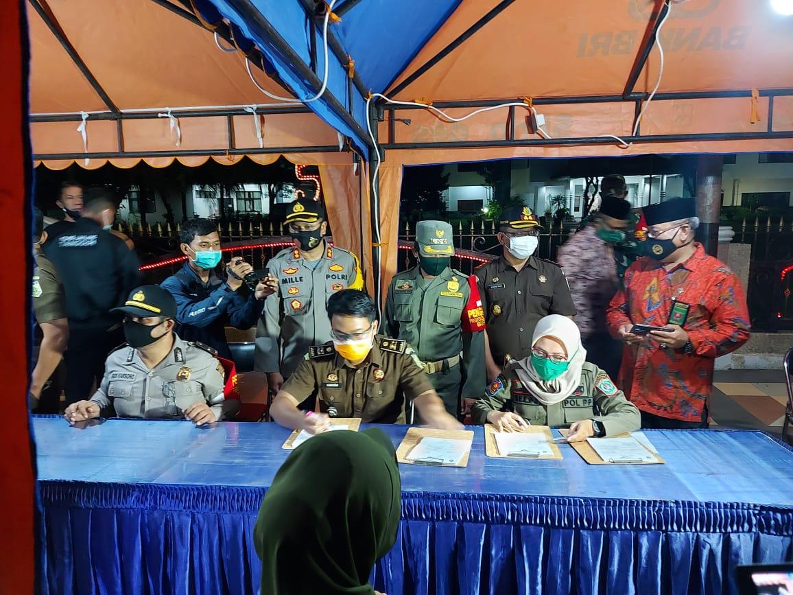 Duh..! Banyak Anak Muda Lumajang Terjaring Operasi Yustisi Masker
