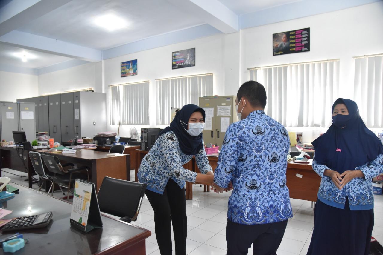 Cak Thoriq Sidak ASN Masuk Awal Lebaran di Kantor OPD Lumajang