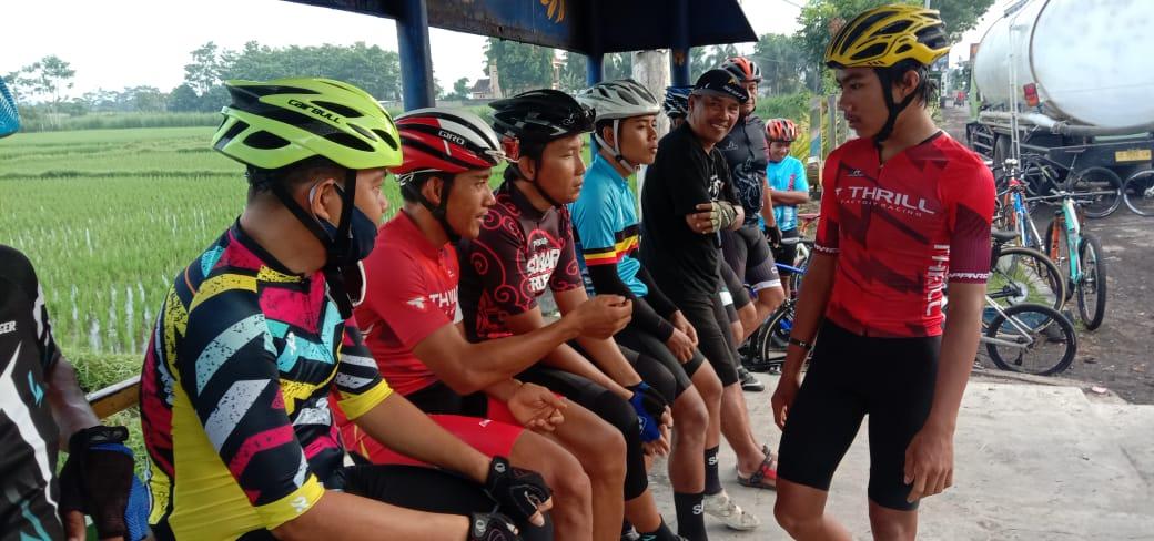 Zaenal dan Feri Usai Rajai Grandfondo Latihan Bareng PORPOR RBC