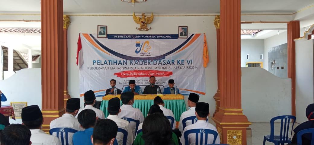 PMII Syarifuddin Lumajang Gelar PKD di Senduro