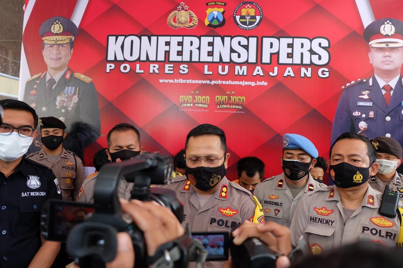 Tahanan Polres Lumajang Jebol Tembok Pakai Kawat Untuk Kabur