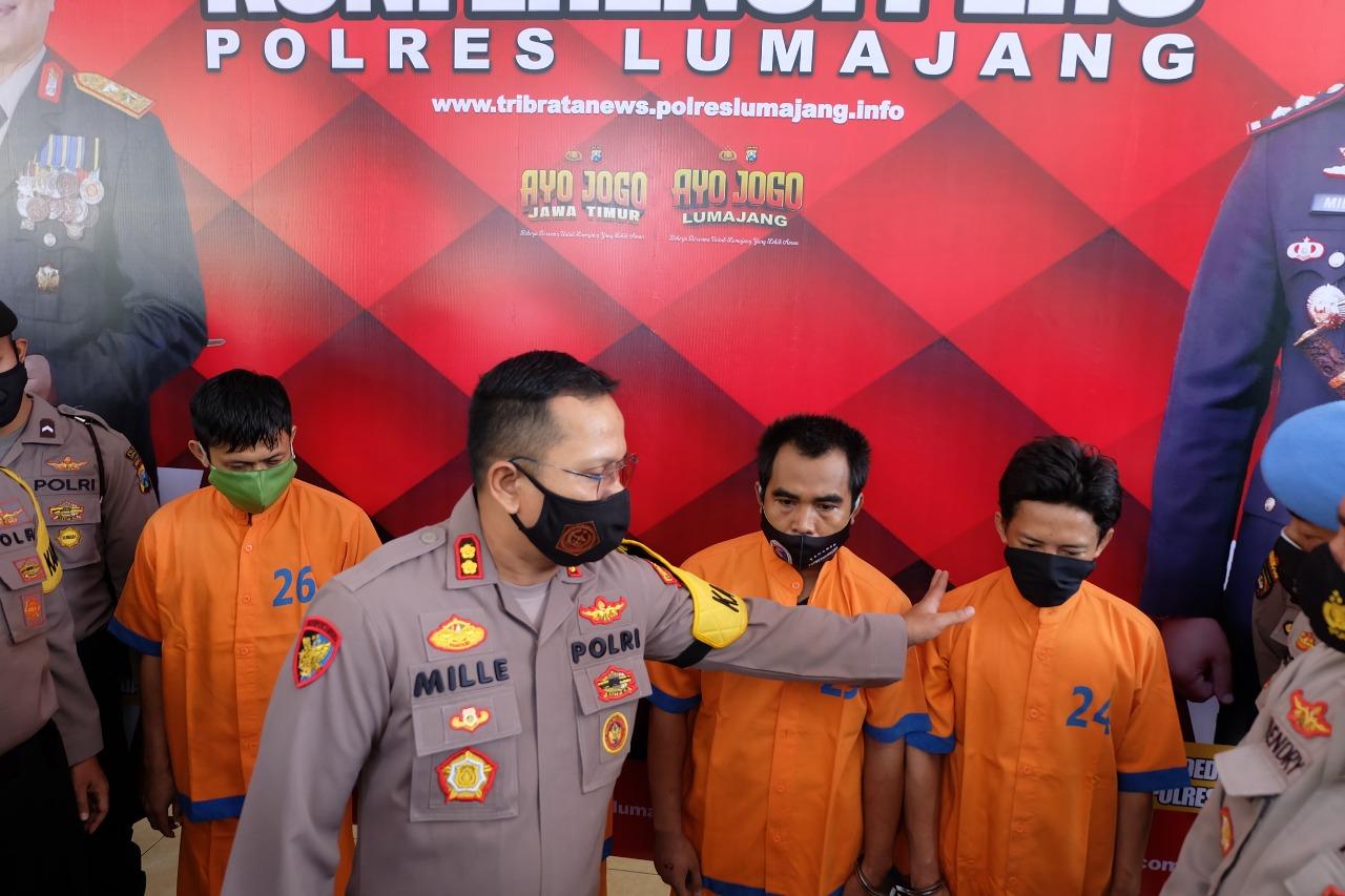 4 Tahanan Polres Lumajang Usai Kabur Berhasil Ditangkap Kembali