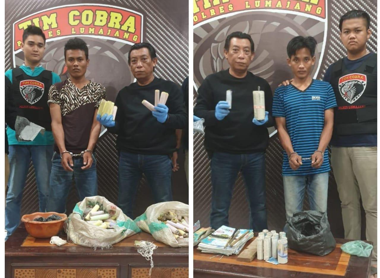 Tim Cobra Selidiki Pembuat Mercon Kedungjajang Terkait Bondet