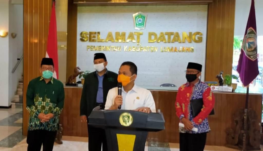 Pemkab Lumajang Tetapkan 7 Kecamatan Zona Merah Persebaran Covid 19