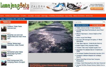 12-12-2012 Lumajangsatu.com Lahir Untuk Perubahan