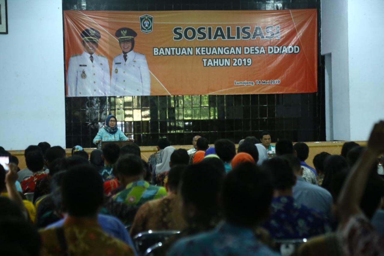 Bunda Indah  : Sekdes Wajib Ingatkan Kades Main-Main DD/ADD