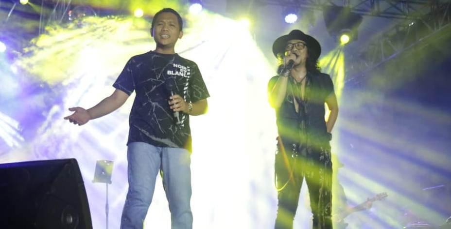 Cak Thoriq Adu Suara Bareng Iroel Empal dan Penyanyi New Kendedes
