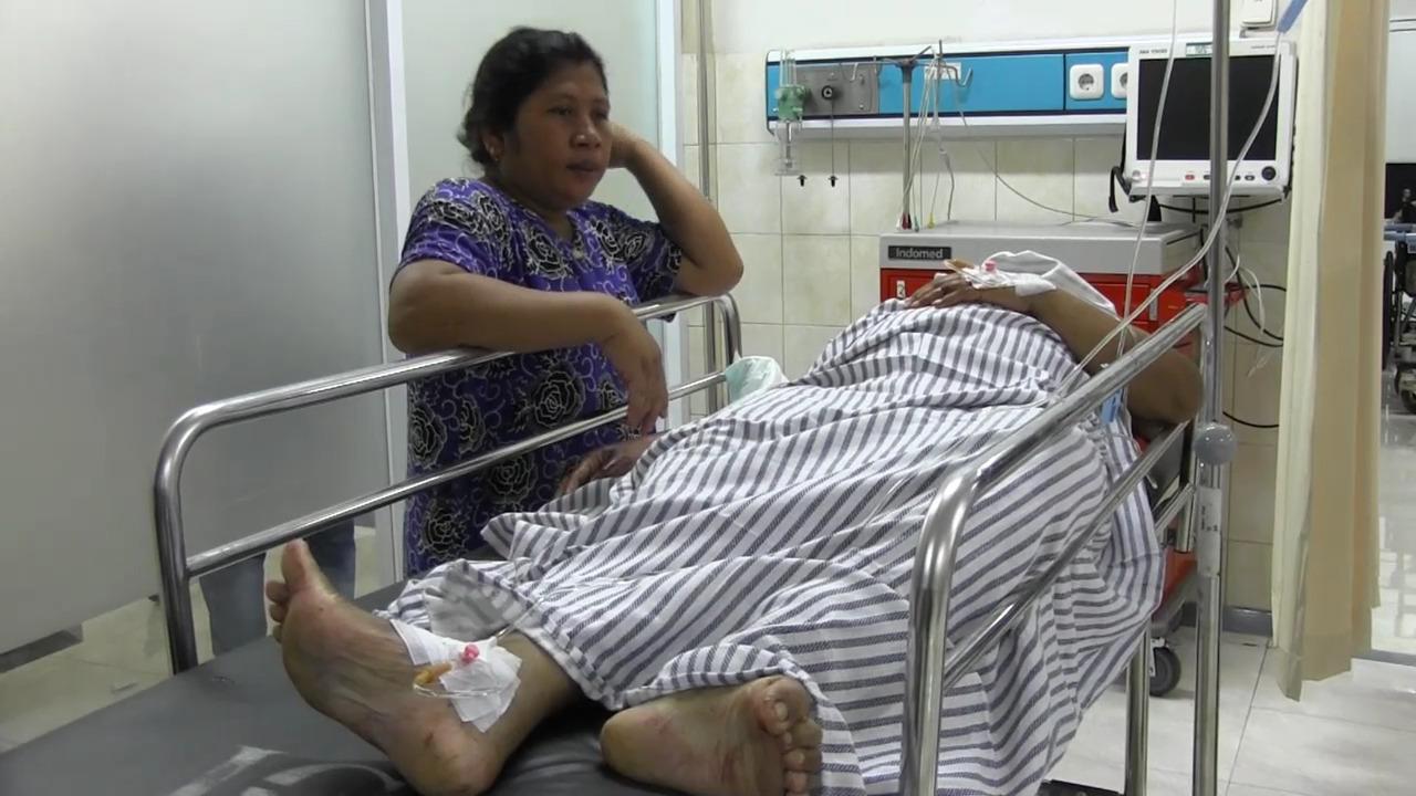 Eni Kakak Buamin Korban Tewas Penusukan di Sumberejo Dirawat Itensif