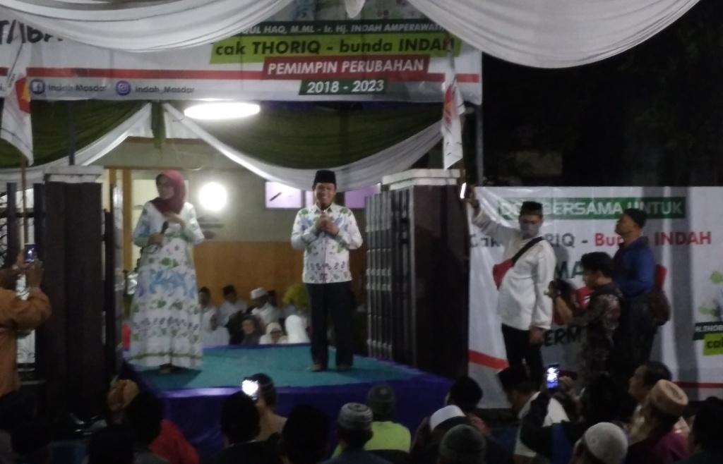 Thoriq-Indah Resmi Deklarasi Maju Pilkada Untuk Lumajang Hebat Bermartabat