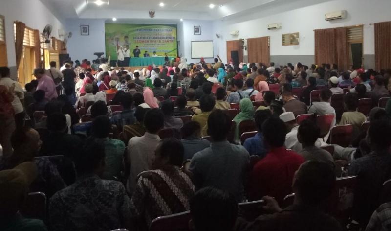 Relawan Santri Lumajang Siap Menangkan Khofifah-Emil Jadi Gubernur