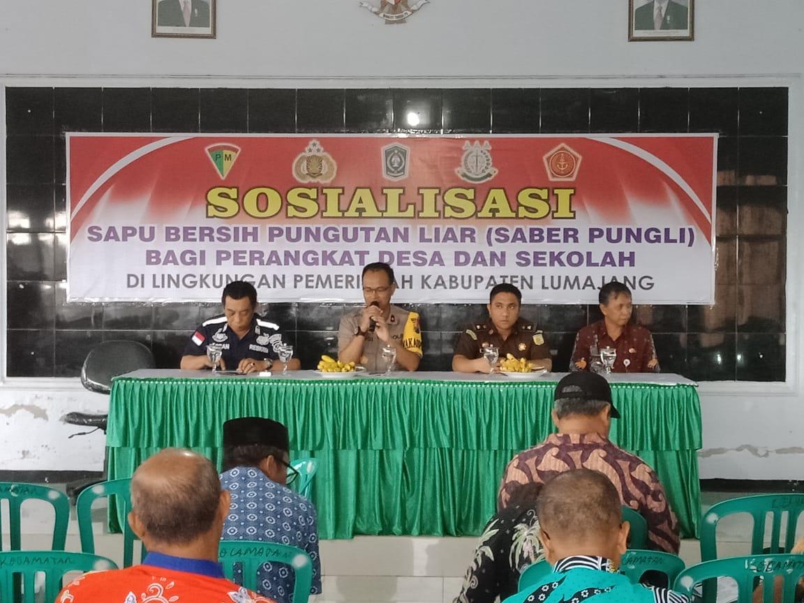 Polres dan Kejaksaan Komitmen Berantas Pungli di Lumajang