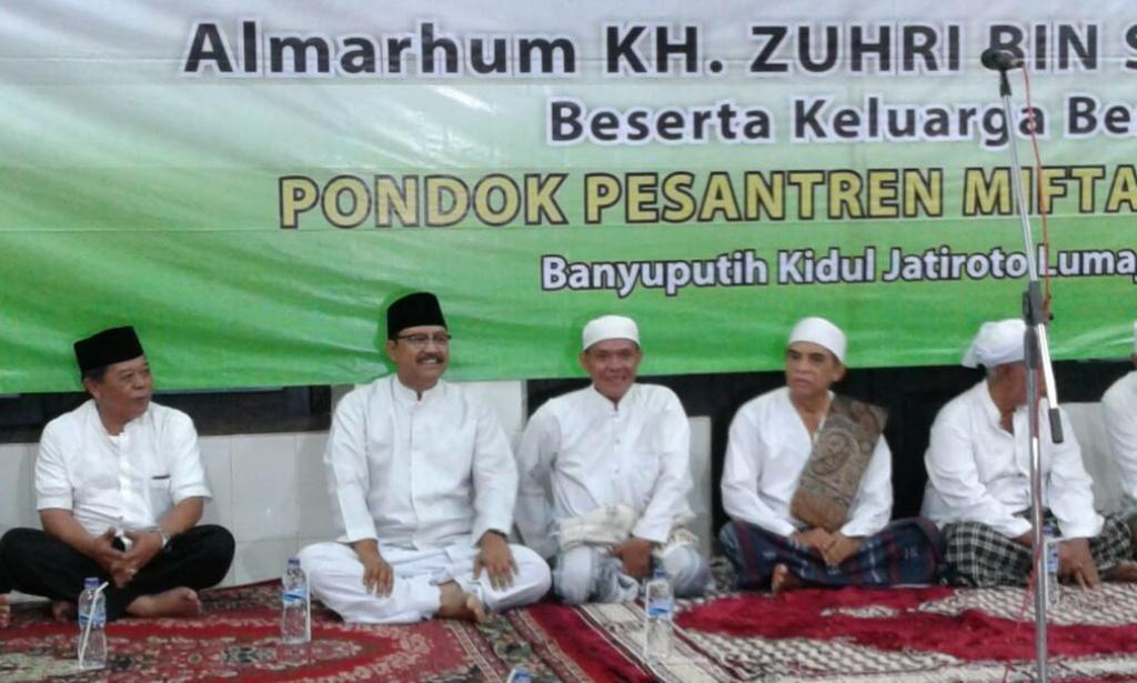 Ribuan Santri dan Alumni Hadiri Haul KH. Zuhri bin Sirojuddin Miftahul Ulum Bakid
