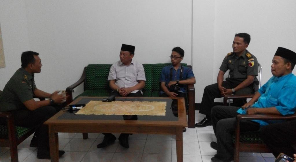 Datang ke Kodim 0821, SBA Anggota Komisi I DPR RI Tanya Situasi Lumajang