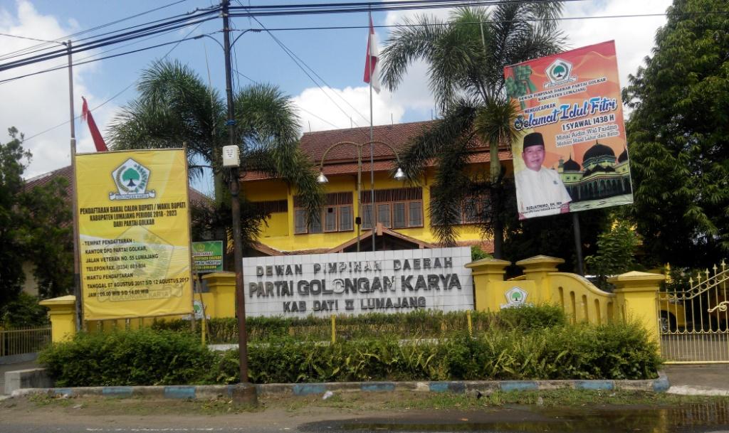 Golkar Buka Pendaftaran Calon Bupati Lumajang, Dua Balon Langsung Ambil