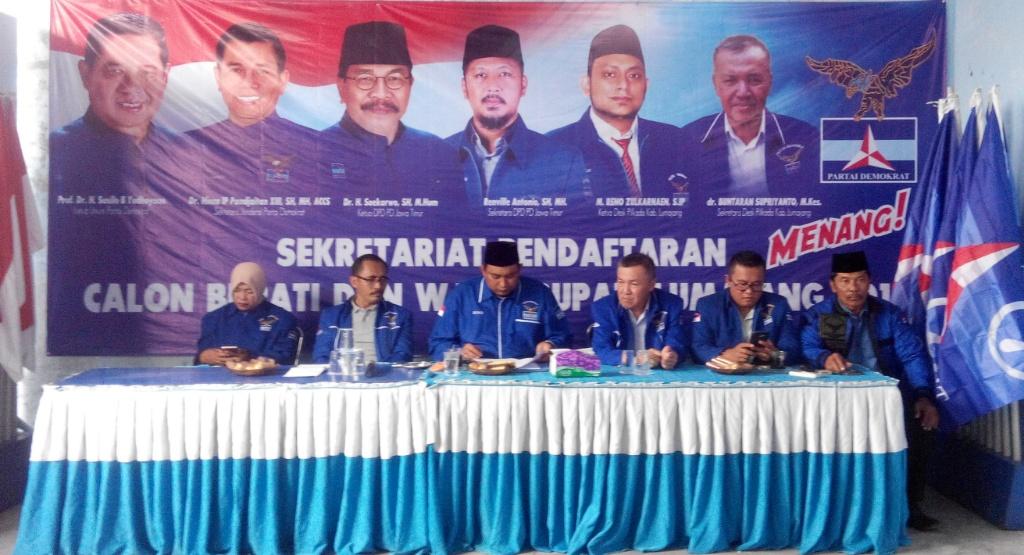 Demokrat Buka Pendaftaran Bakal Calon Bupati Lumajang 2018, Gratis..!!