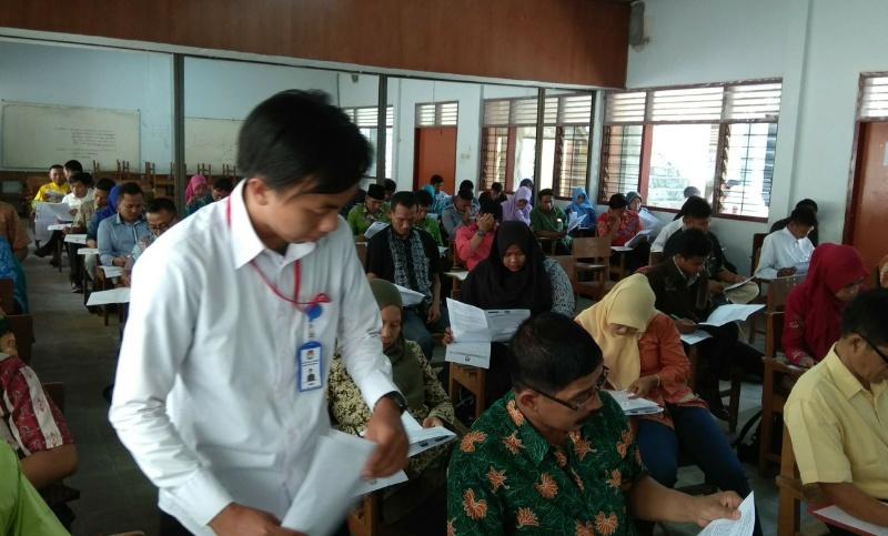 88 Calon PPS Tak Ikuti Tes Tulis di KPU Lumajang