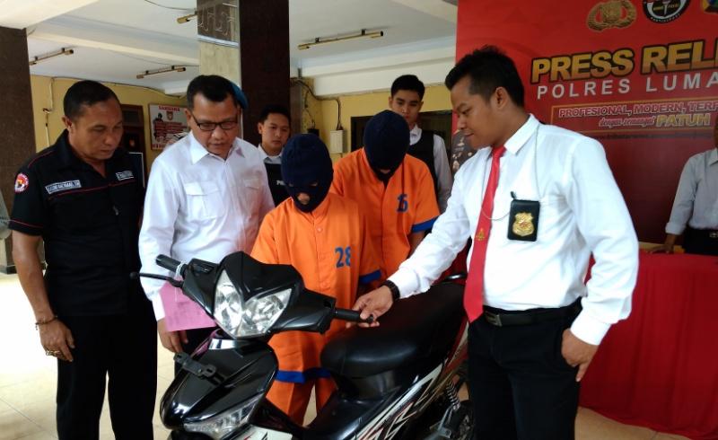 Nyuri Sepeda Motor, Ahli Kunci Diringkus Polisi