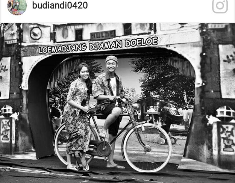 Yuk... Ngontel Sepeda Kuno di Area Loemadjang Djadoel 2017