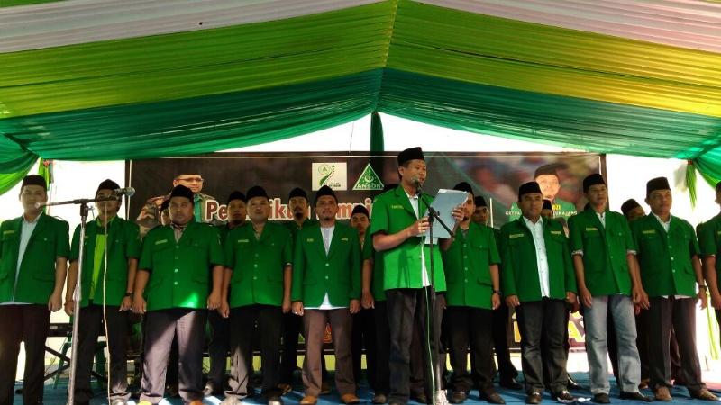 Selamat, PC GP Ansor Lumajang Masa Khidmad 2017-2021 Dilantik