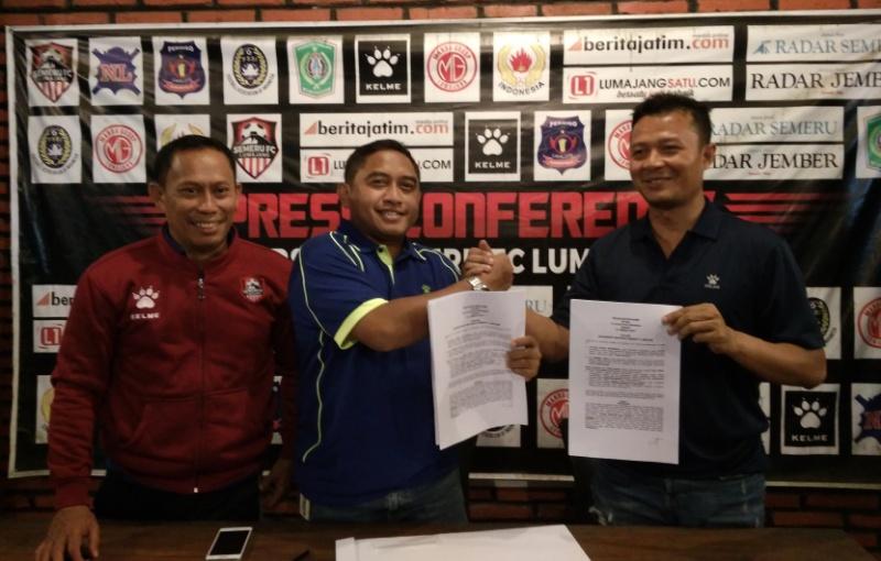 Prestasi Gemilang, Semeru FC Kembali Teken Kontrak dengan Apparel Kelme