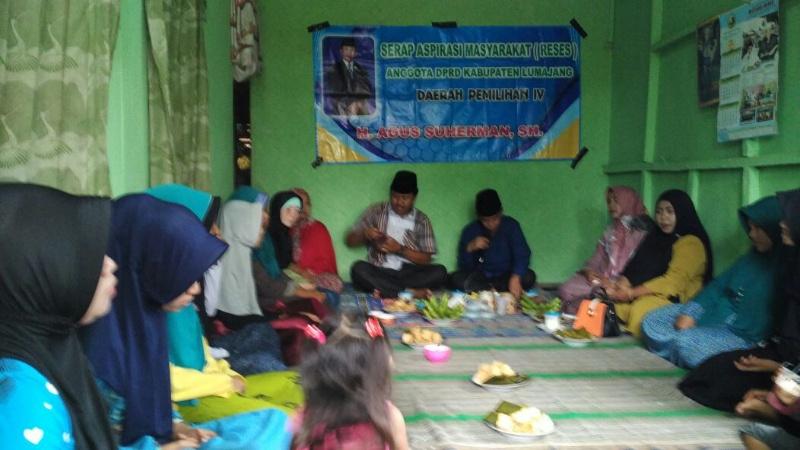 Reses, Agus Suherman Anggota Fraksi NasDem Sapa Anak Muda