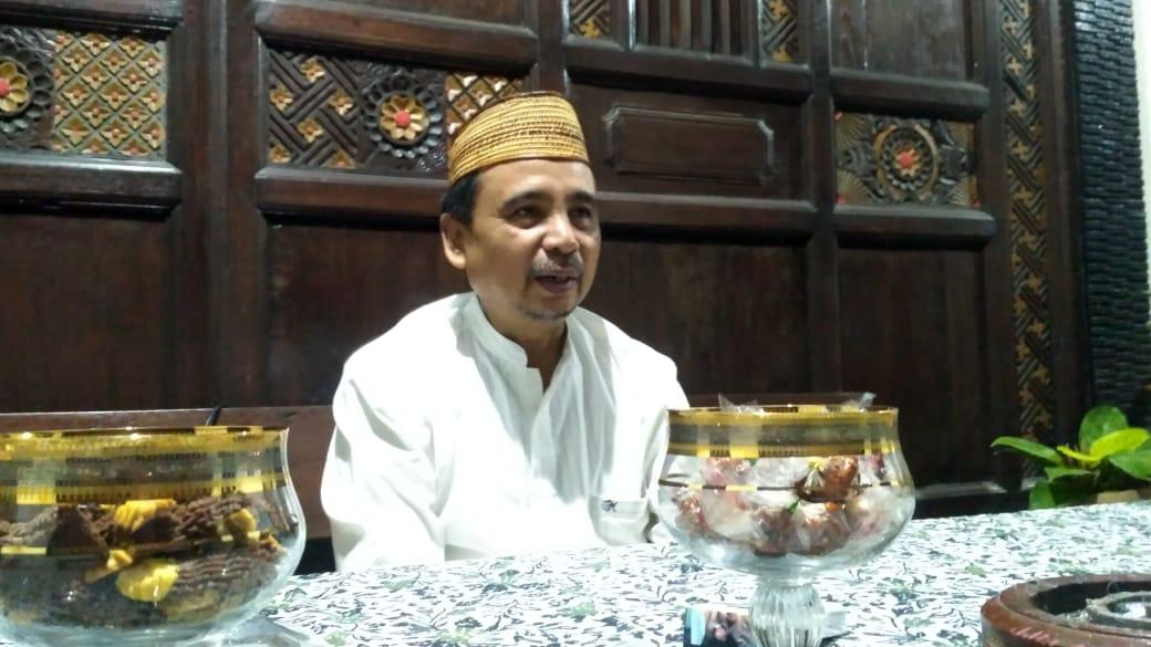 KH. As'at Malik Kini Berternak dan Mengajar di IAI Syarifuddin