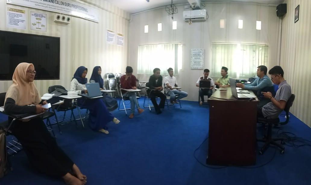 Himaprodi KPI IAI Syarifuddin Gelar Pelatihan Weblog