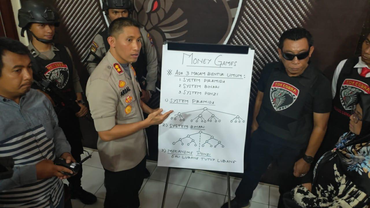 Komandan CobraPolres Lumajang Buka Kedok Penipuan Bisnis MLM Qnet