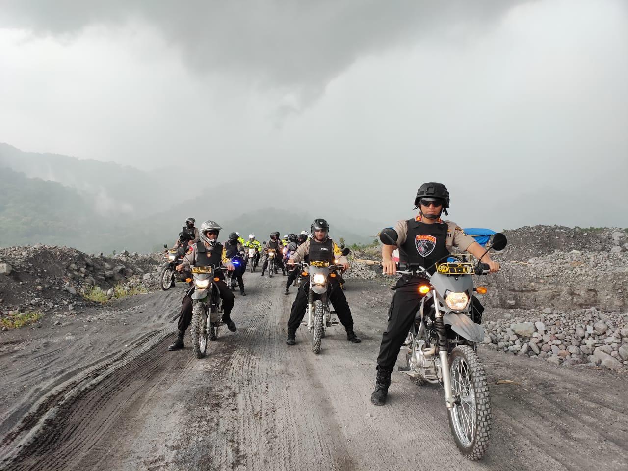 Pasca Bupati Tutup Jalan Desa Bagi Truk Tambang, Kapolres Pantau Jugosari -Jarit
