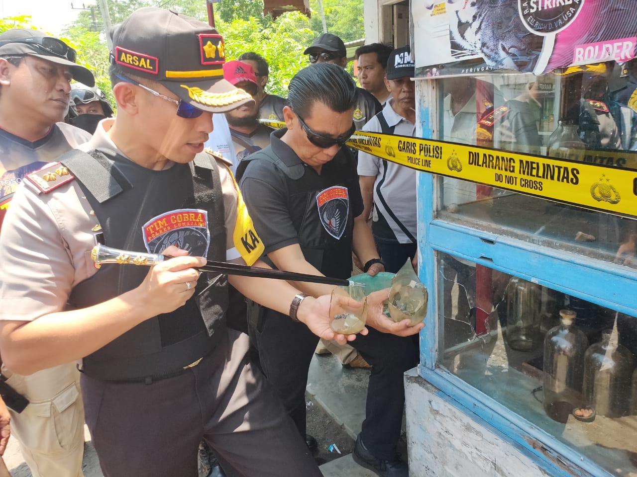 Kapolres Lumajang Pastikan Teror Pecah Kaca Tidak Ada Hubungan Politik dan Terorisme