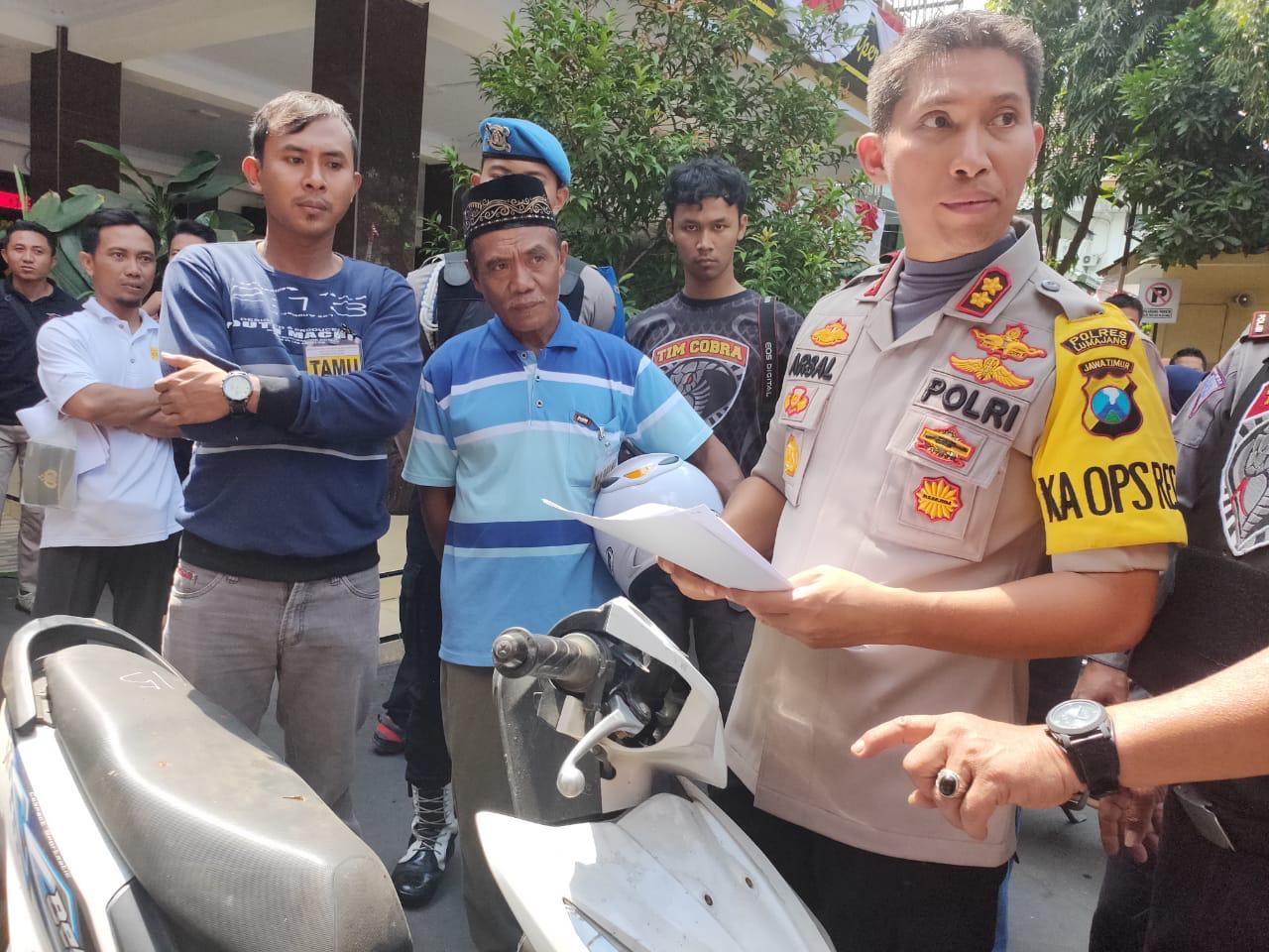 Ortu Korban Begal Jember :  Lumajang Bersyukur Punya Tim Cobra