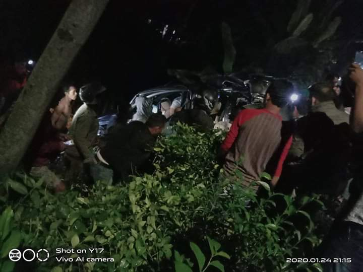 9 Orang Jadi Korban Tabrakan Karambol di Ranuyoso Lumajang