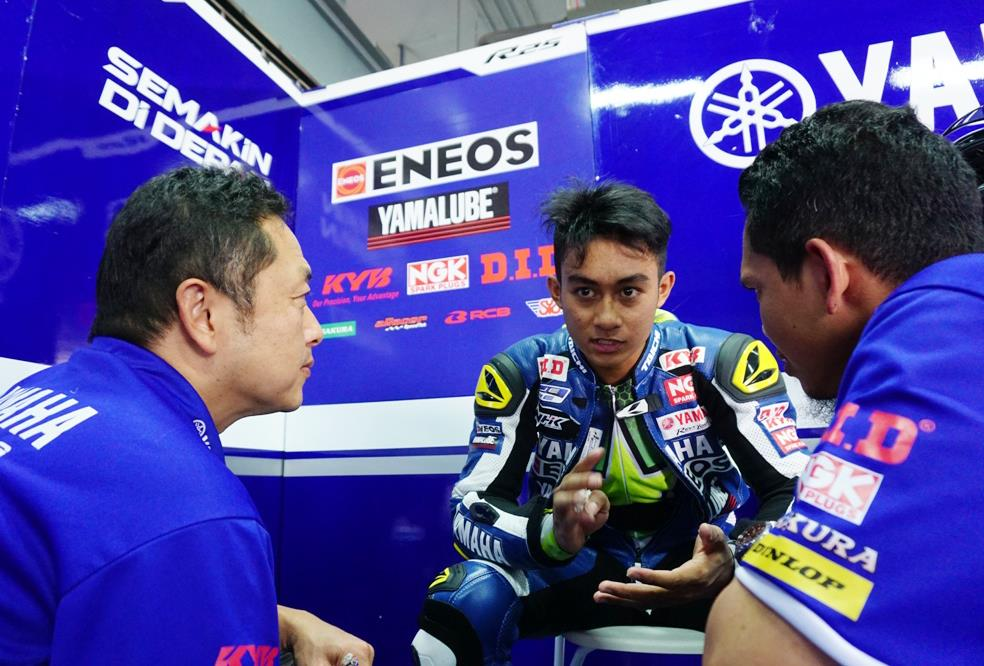 Faerozi Pembalap Motor Asal Lumajang Belajar ke Valentino Rossi