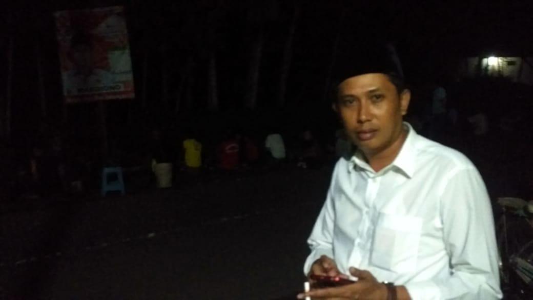 Mardiono Caleg Gerindra Sumbang Ikan Giat Mancing Mania di Kampungnya