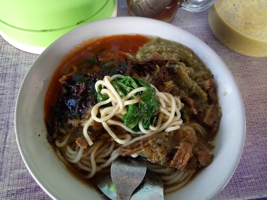 Enaknya, Mie Ayam Pak Ahmad Bagi Pecinta Kuliner Lumajang
