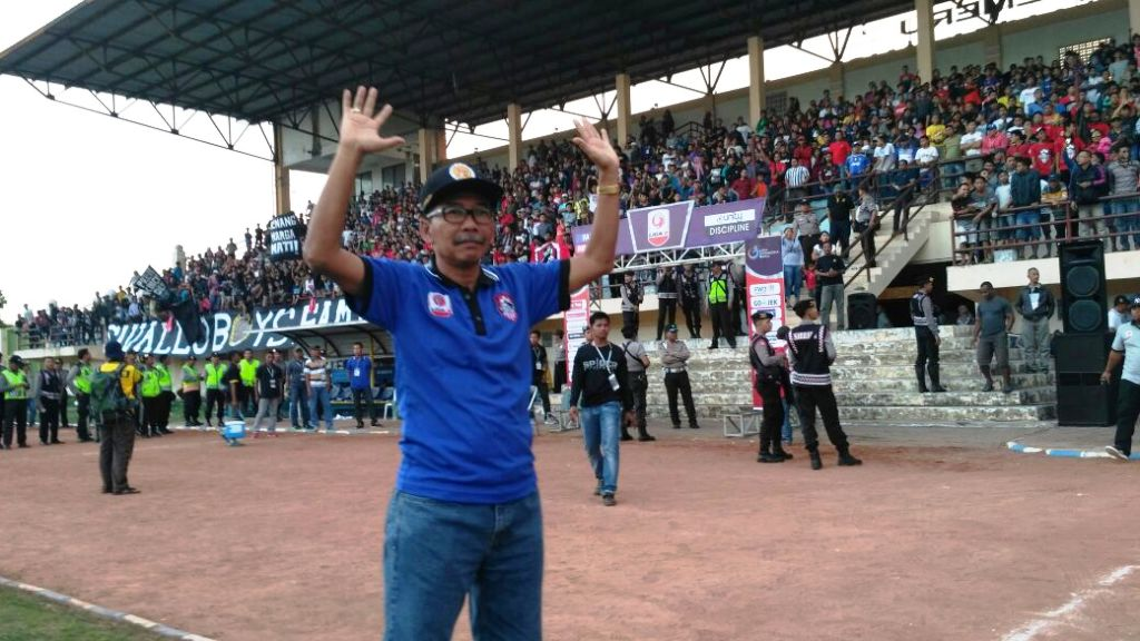 Ngateman : Kemenangan Semeru FC atas Celebest Kembalikan Gairah Sepak Bola Lumajang
