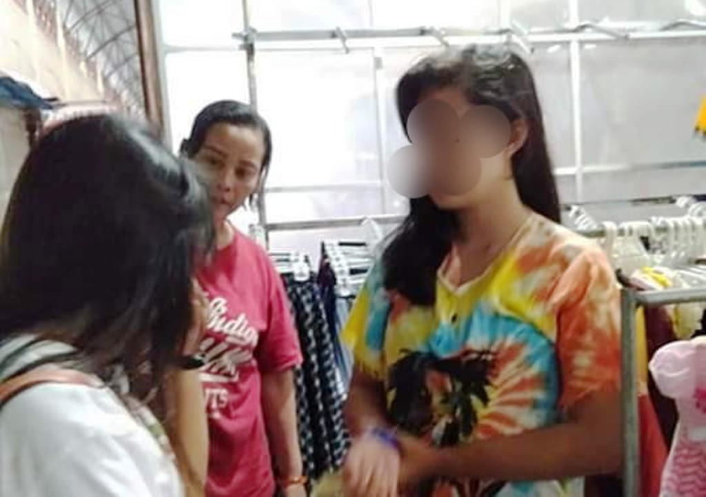 3 Gadis Belia Tertangkap Mencuri Pakaian di Pasar Pasirian