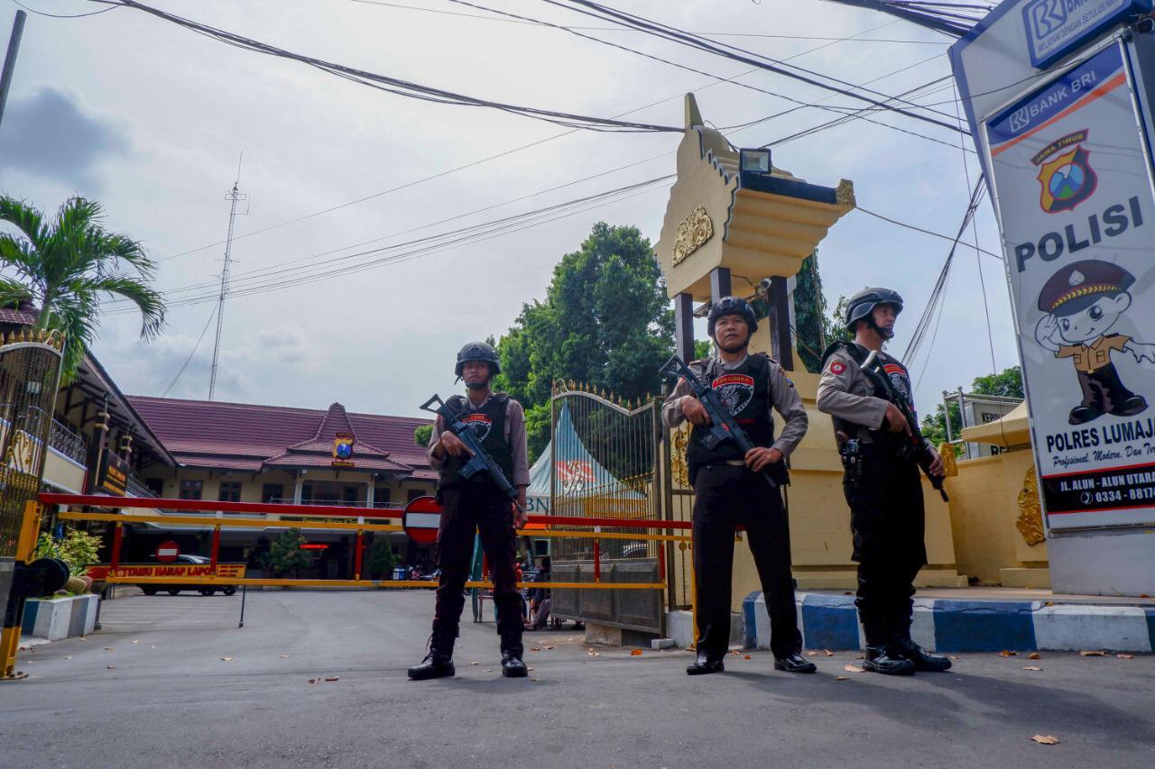 Tim Cobra Lumajang Siaga Satu Pasca Teror Bom Bunuh Diri di Medan