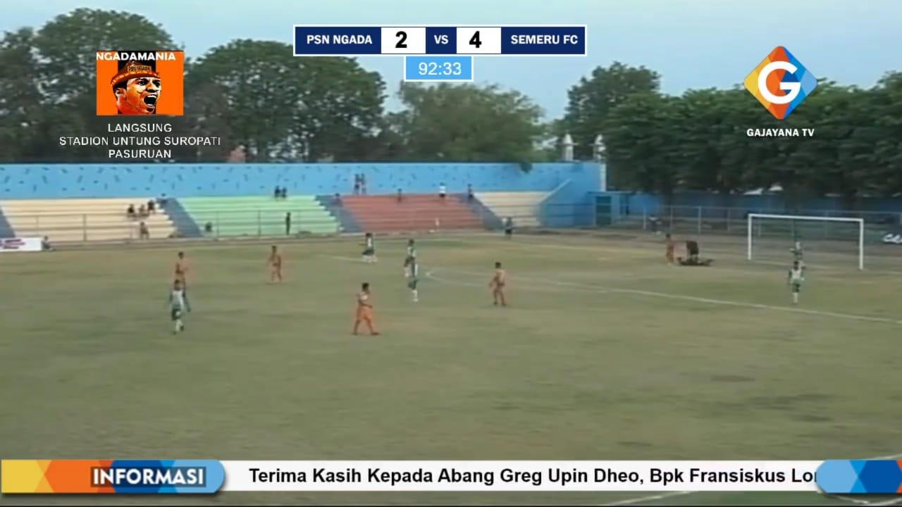 Semeru FC Lumajang Bungkam PSN Ngada Melalui Hattrick Gol Rizky Pangestu