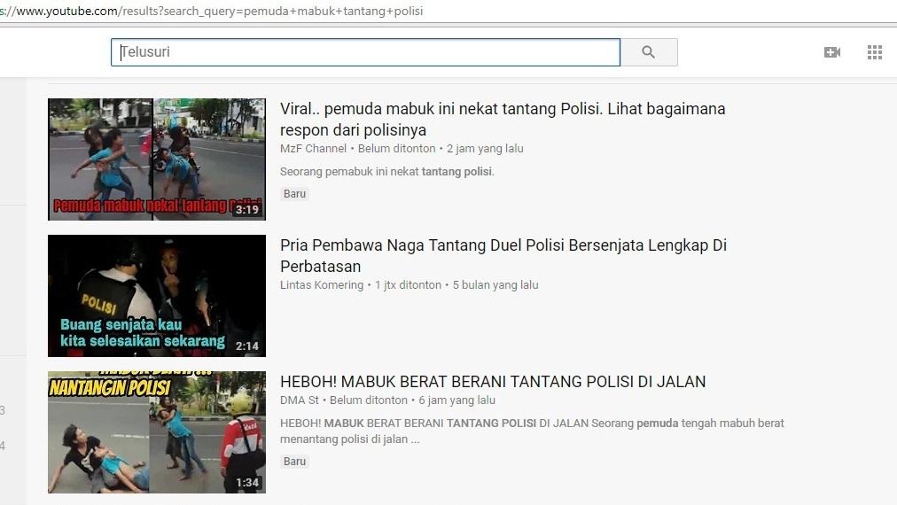 Video viral di Youtube