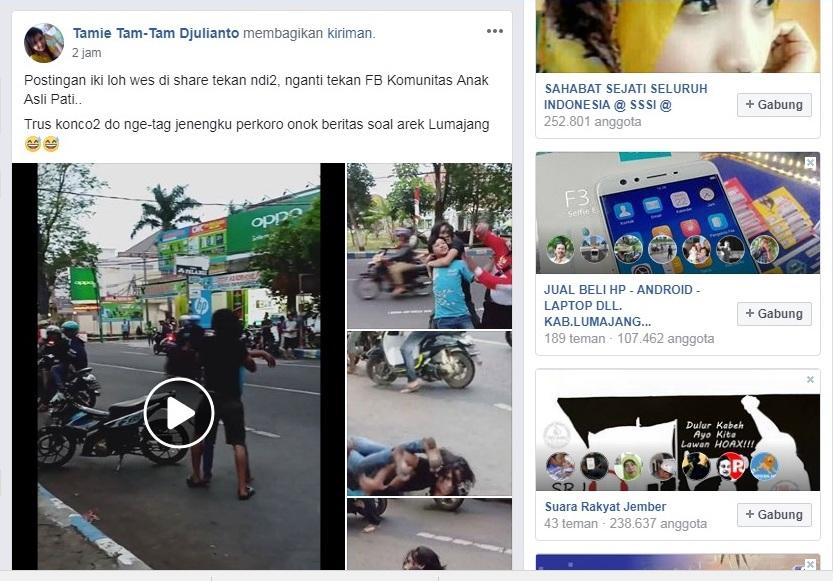 Viral, Video Pemuda Teler Ngamuk di Depan Kantor PDAM Lumajang