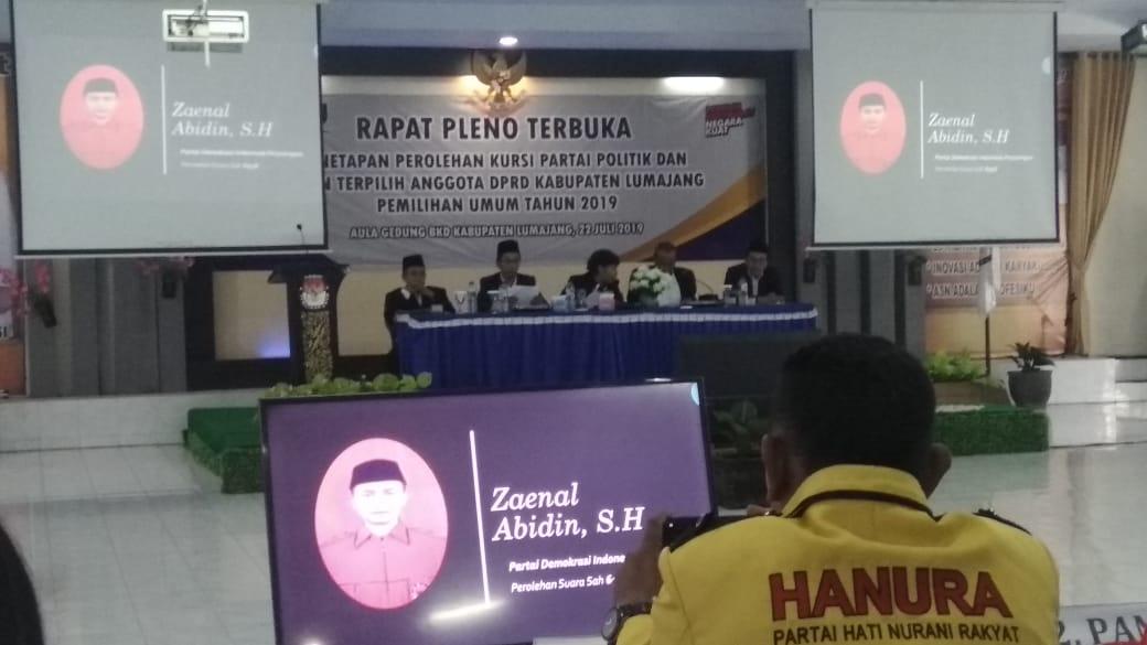 KPU Lumajang Tetapkan 50 Calon Anggota DPRD untuk Dilantik